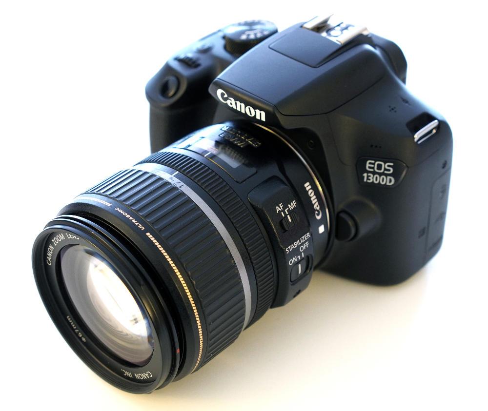 canon eos 1300d fotocamere reflex. Black Bedroom Furniture Sets. Home Design Ideas