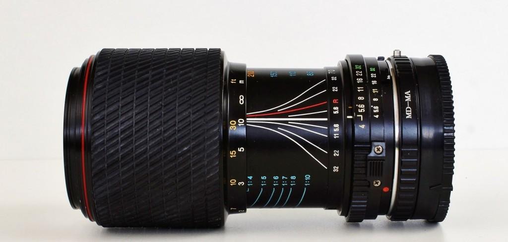 lunghezza focale obiettivo