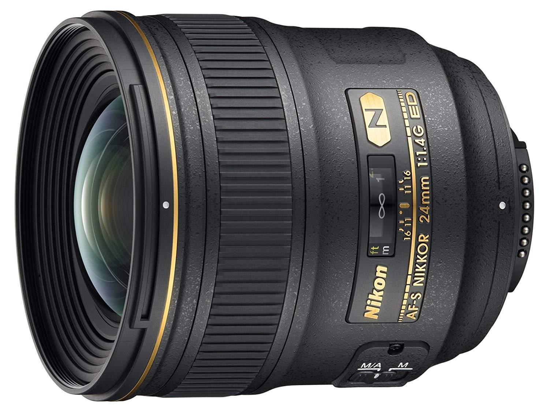 Nikon Nikkor AF-S 24mm f1.4 ED