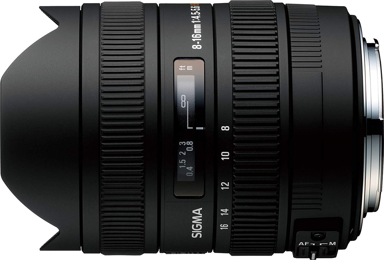 Sigma 8-16mm DC HSM AF Fisheye