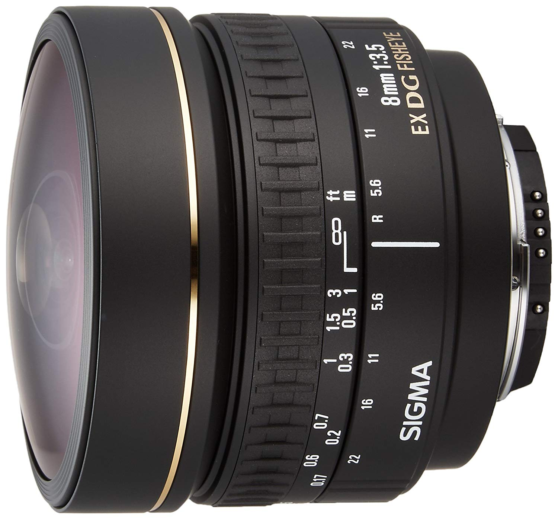 Sigma 8mm EX DG Fisheye