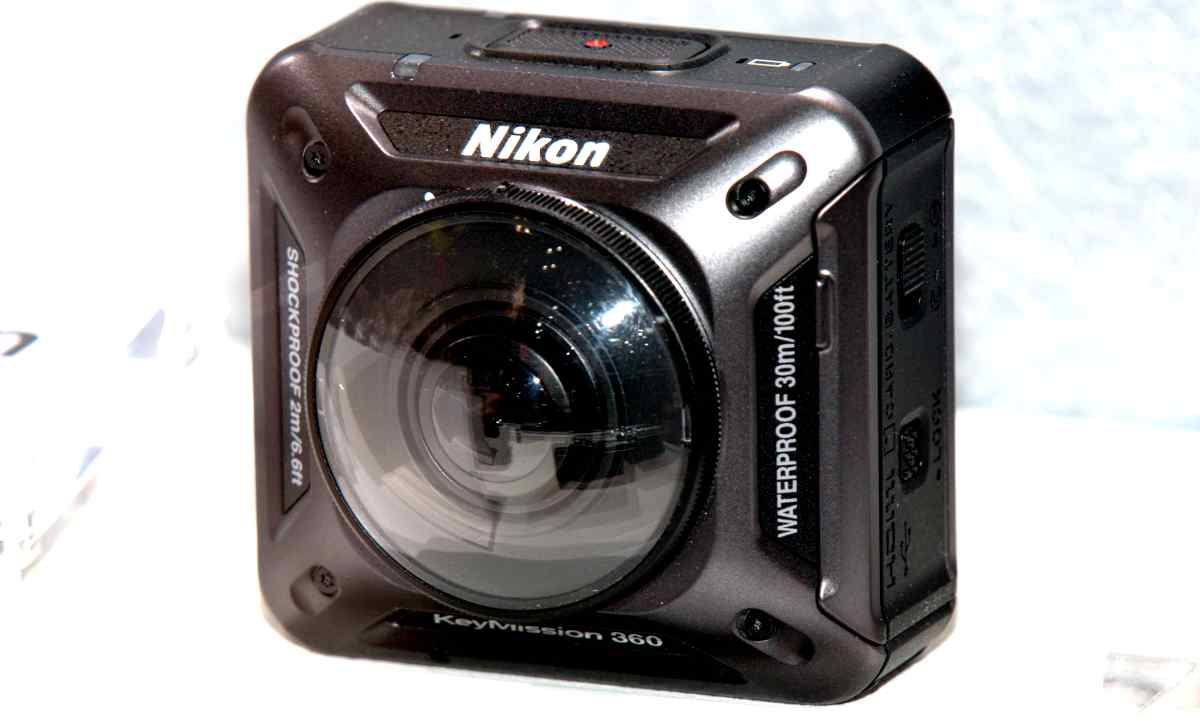 fotocamere 360 Nikon KeyMission